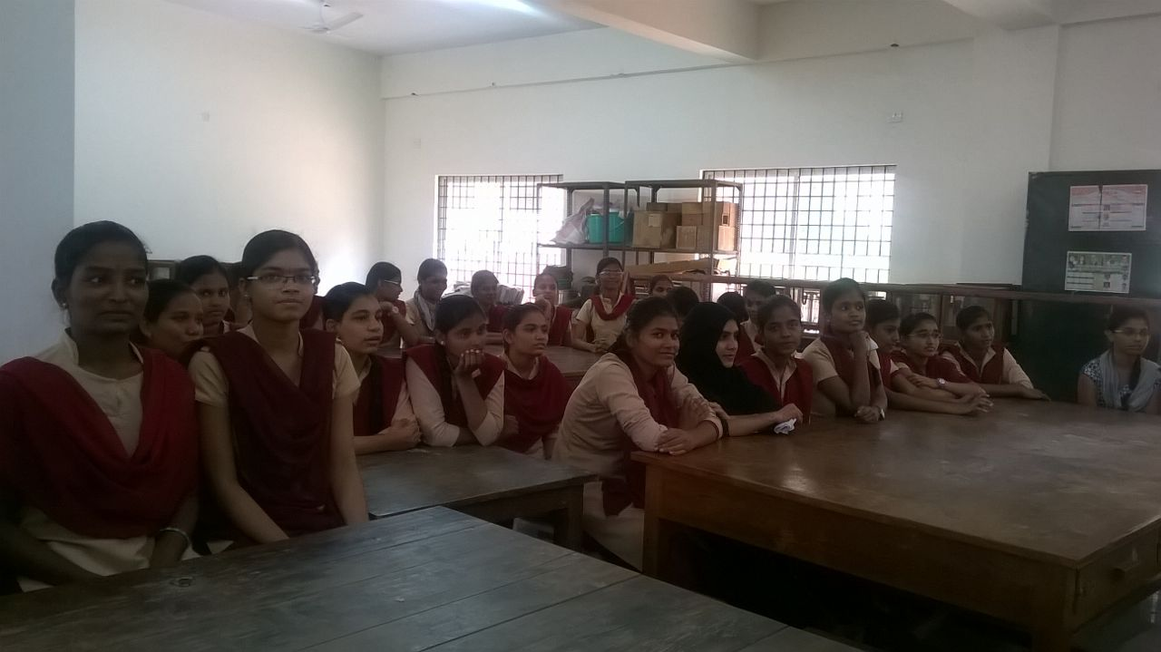STUDENTS PARTICIPATING IN ELOCUTION CONDUCTED AT SDDGWTTI