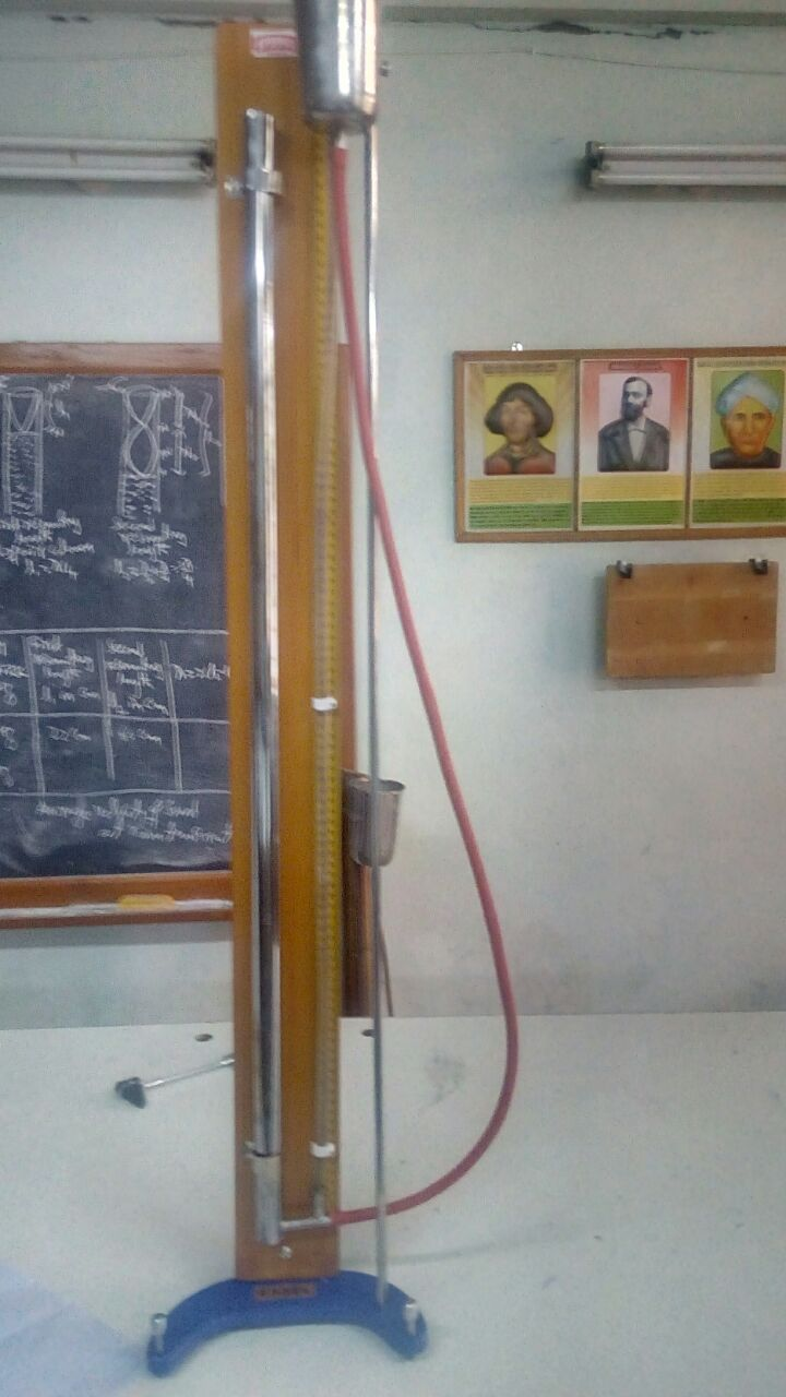 SGMGPT-Resonating Apparatus(15 nos) procured in Physics Lab Under MHRD Upgradation