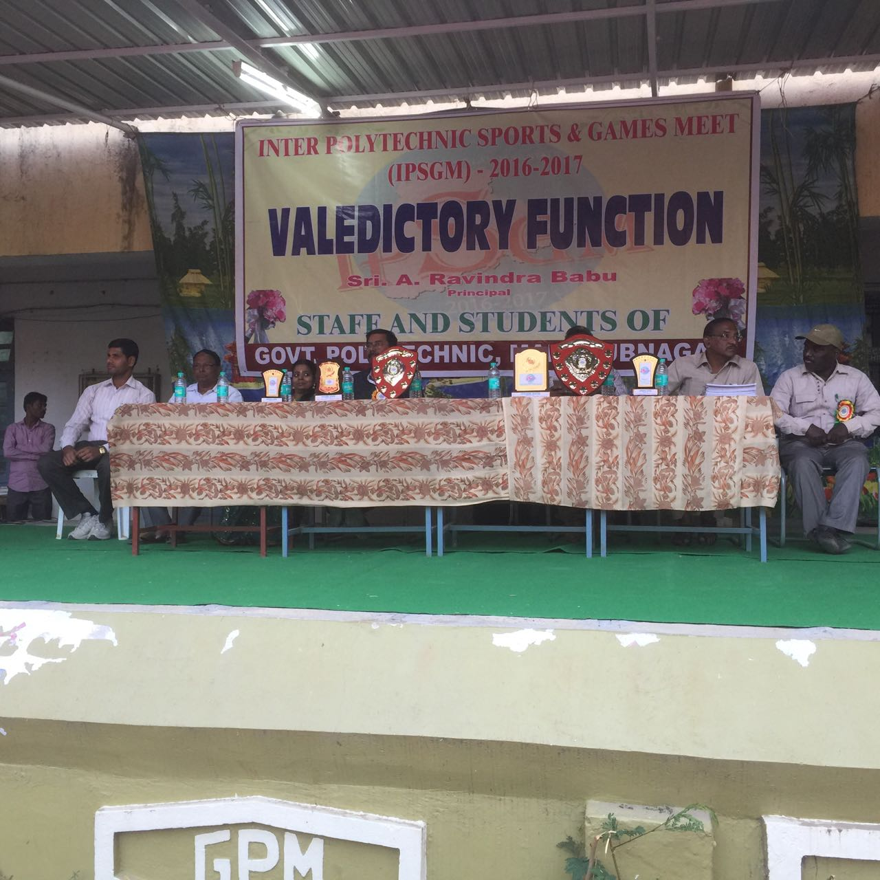 IPSGM-2016 VALEDICTION CEREMONY ON 07/01/2017