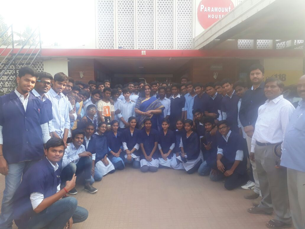 Automobile staff and students visited industry on 27th Jan 2017