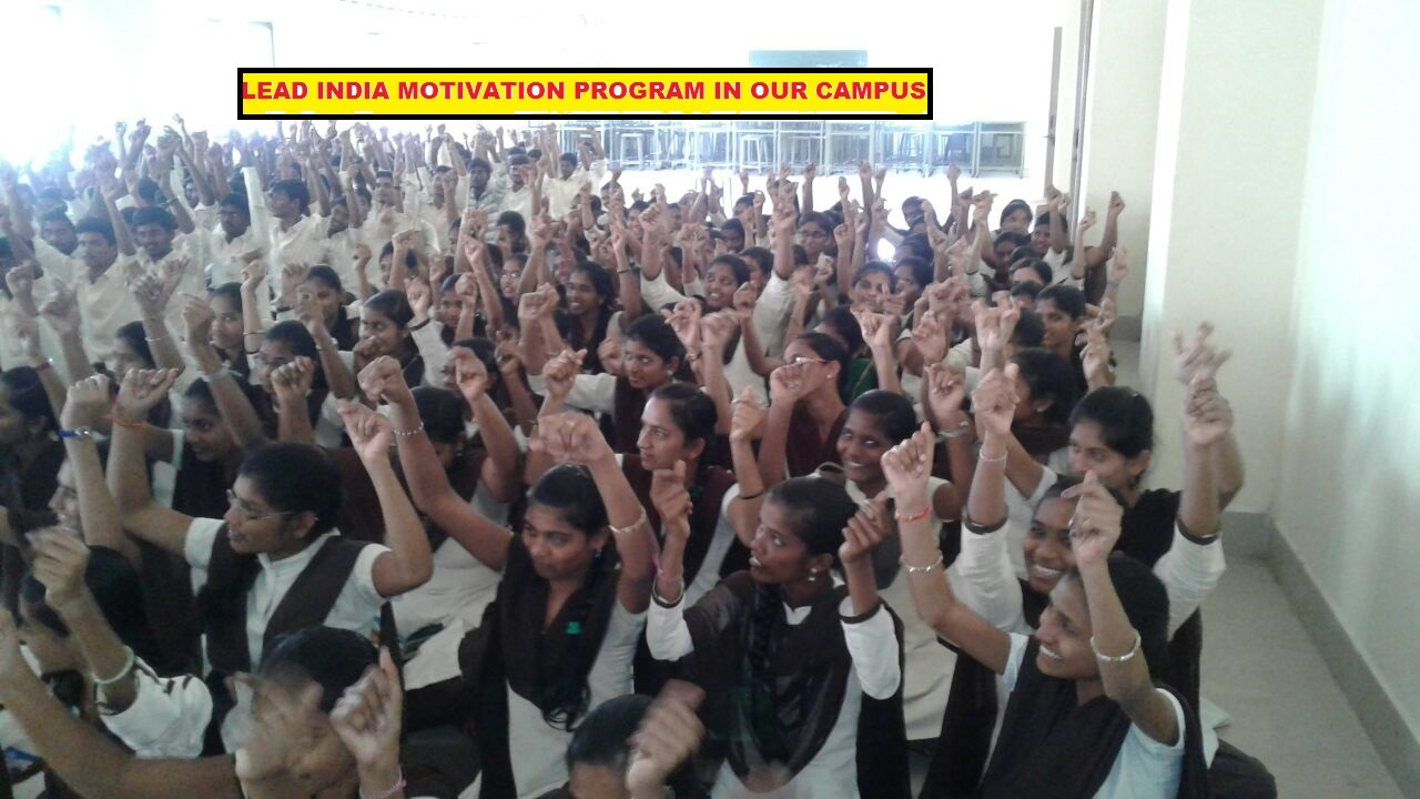Lead India Motivation class