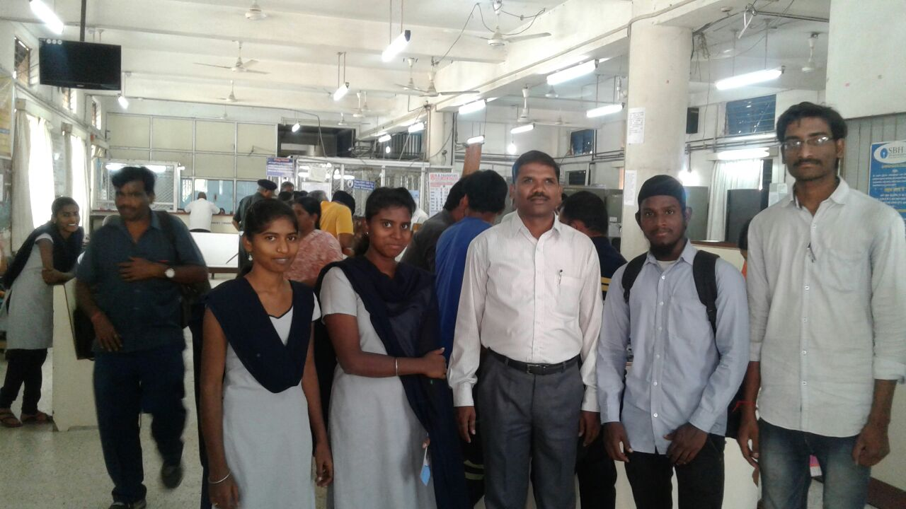 SGMGPT-DCCP-Students visited SBH Vanasthalipuram