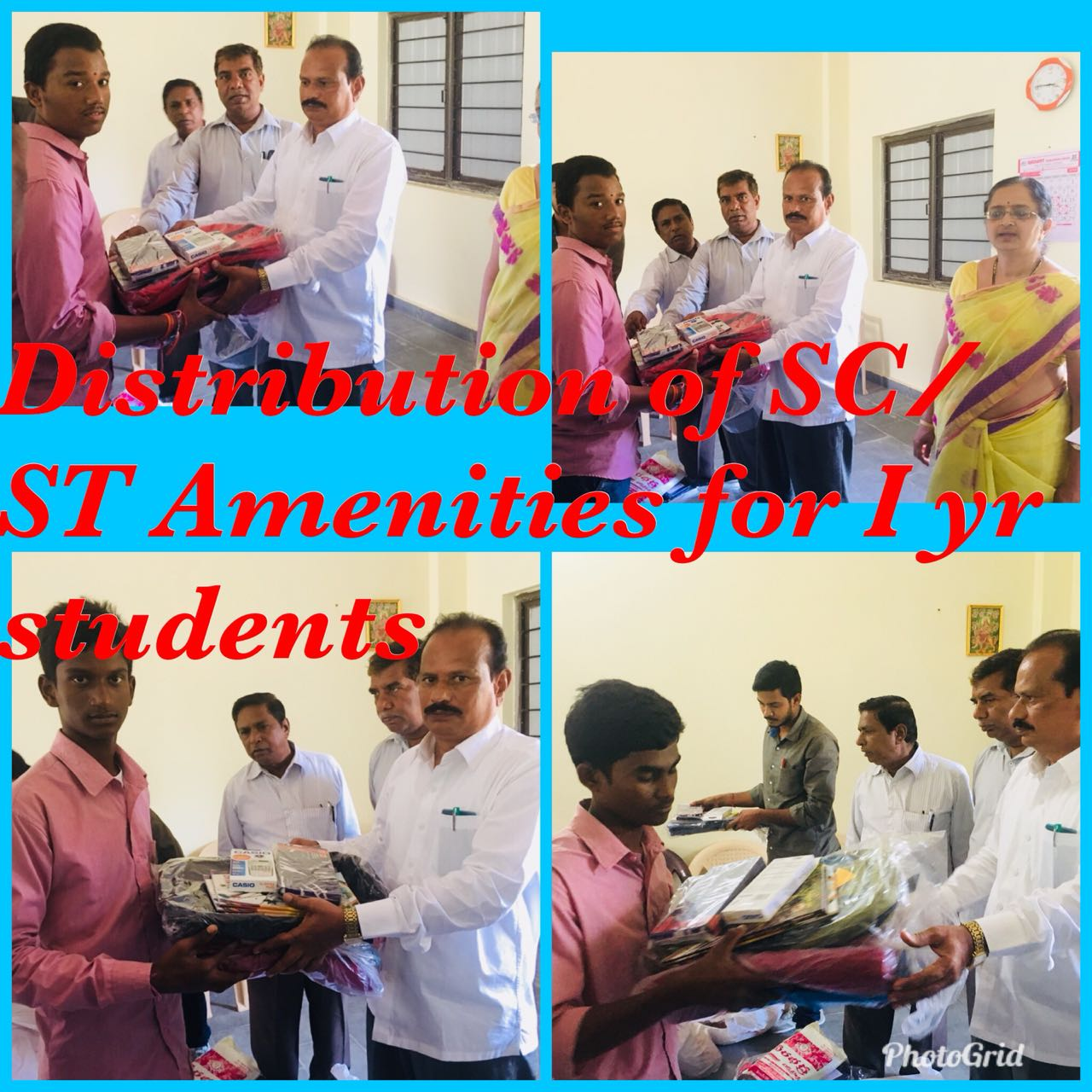 SC/ST AMENITIES