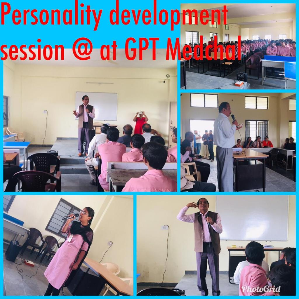 PERSONALITY DEVELOPMENT SESSION