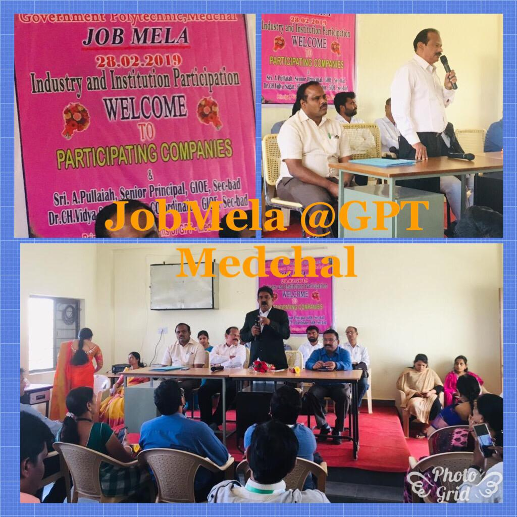 JOB MELA @GPT,MEDCHAL on 28/02/2019
