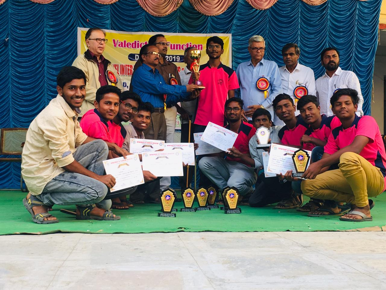 KHO-KHO TEAM SELECTED FOR STATE LEVEL